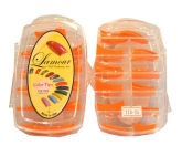 Lamour Orange Nail  Tips 04